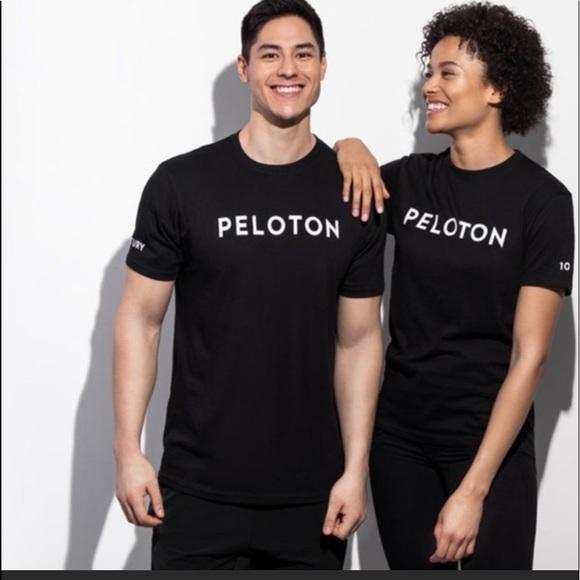 Peloton Century Club 100 Rides Black Tee Shirt